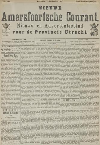 Nieuwe Amersfoortsche Courant 1897-12-22