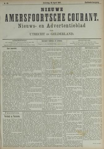 Nieuwe Amersfoortsche Courant 1887-04-30