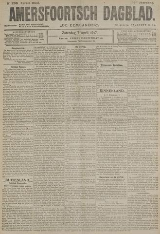 Amersfoortsch Dagblad / De Eemlander 1917-04-07