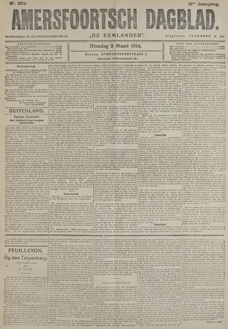 Amersfoortsch Dagblad / De Eemlander 1914-03-03