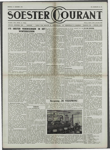 Soester Courant 1958-10-14
