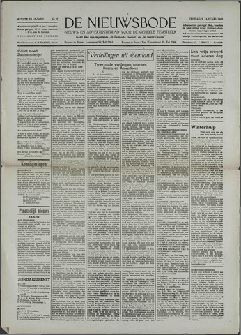Soester Courant 1942-01-09