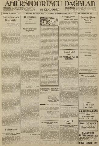 Amersfoortsch Dagblad / De Eemlander 1932-02-02