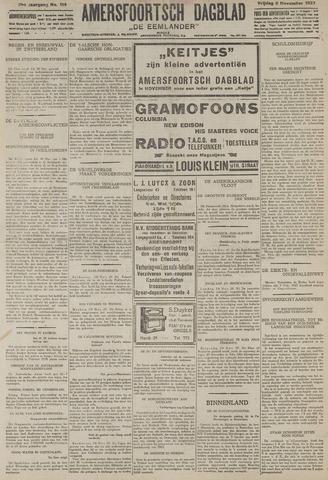 Amersfoortsch Dagblad / De Eemlander 1927-11-11