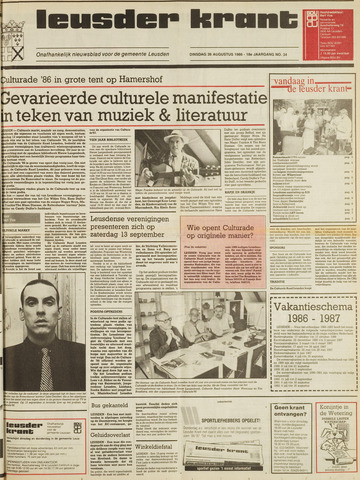 Leusder Krant 1986-08-26