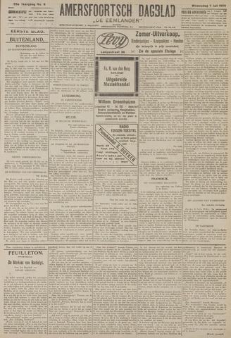 Amersfoortsch Dagblad / De Eemlander 1926-07-07