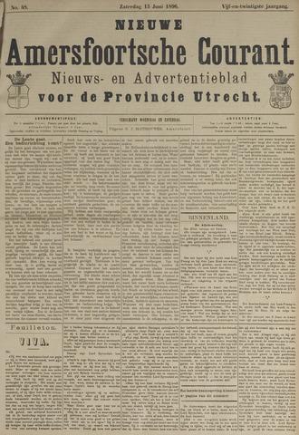 Nieuwe Amersfoortsche Courant 1896-06-13