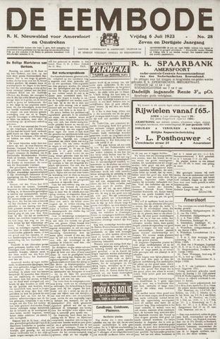 De Eembode 1923-07-06