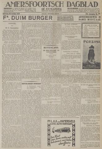 Amersfoortsch Dagblad / De Eemlander 1928-10-20
