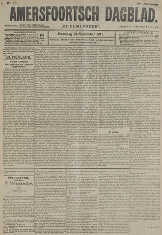 Amersfoortsch Dagblad / De Eemlander 1917-09-24
