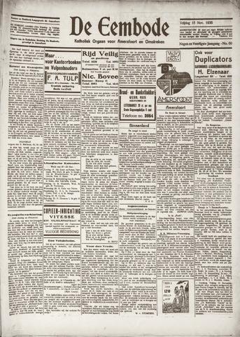 De Eembode 1935-11-15