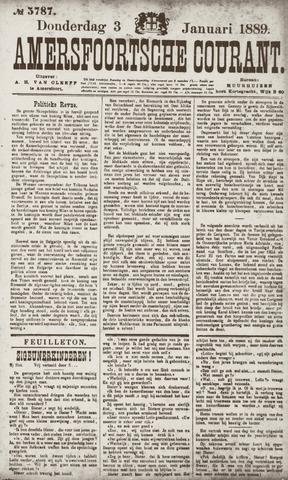 Amersfoortsche Courant 1889