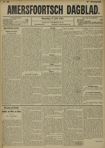 Amersfoortsch Dagblad 1905-07-17