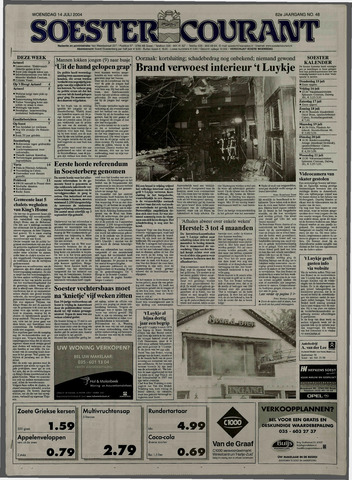 Soester Courant 2004-07-14