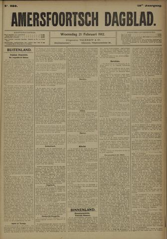 Amersfoortsch Dagblad 1912-02-21