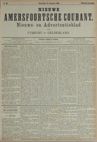Nieuwe Amersfoortsche Courant 1886-08-25