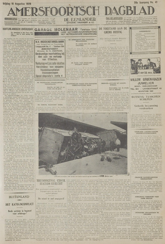 Amersfoortsch Dagblad / De Eemlander 1929-08-16