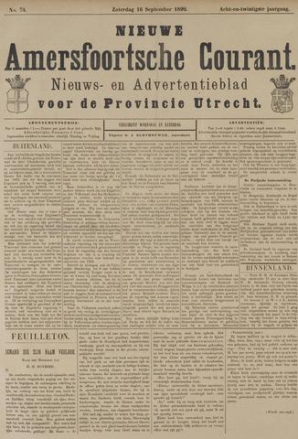 Nieuwe Amersfoortsche Courant 1899-09-16