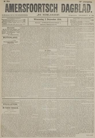 Amersfoortsch Dagblad / De Eemlander 1914-12-02