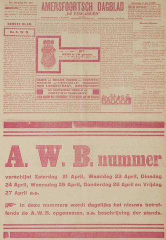 Amersfoortsch Dagblad / De Eemlander 1923-04-21
