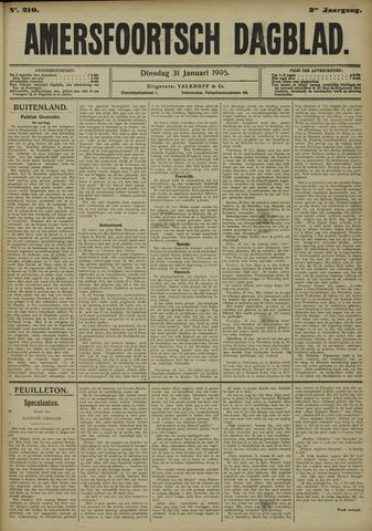 Amersfoortsch Dagblad 1905-01-31