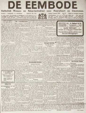 De Eembode 1916-01-07