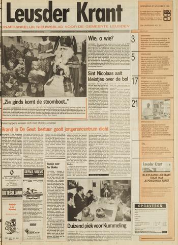Leusder Krant 1991-11-27