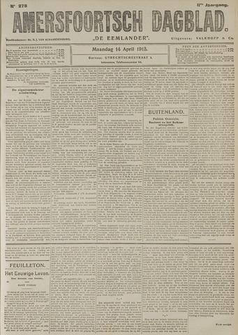 Amersfoortsch Dagblad / De Eemlander 1913-04-14