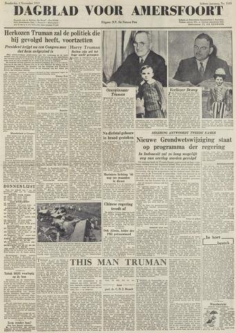 Dagblad voor Amersfoort 1948-11-04