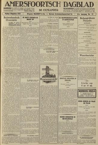 Amersfoortsch Dagblad / De Eemlander 1932-08-05
