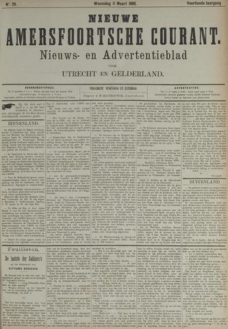 Nieuwe Amersfoortsche Courant 1885-03-11