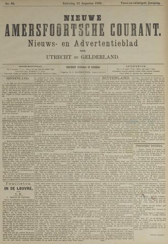 Nieuwe Amersfoortsche Courant 1893-08-12