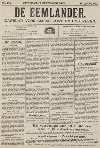 De Eemlander 1910-09-17