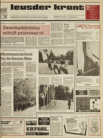 Leusder Krant 1987-05-07
