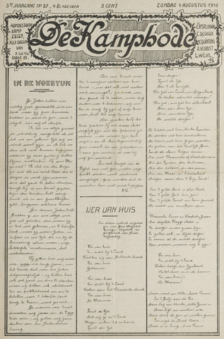 De Kampbode 1918-08-04