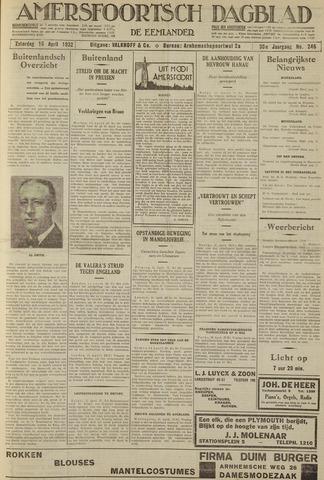 Amersfoortsch Dagblad / De Eemlander 1932-04-16