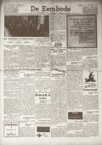 De Eembode 1937-11-30