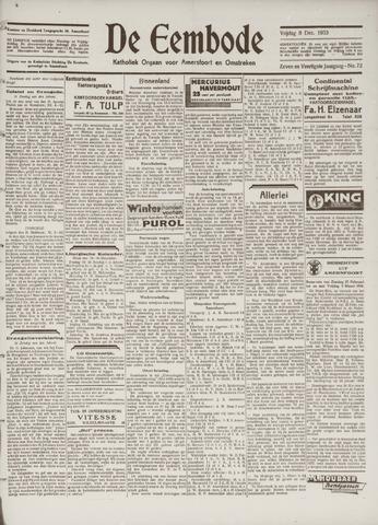 De Eembode 1933-12-08