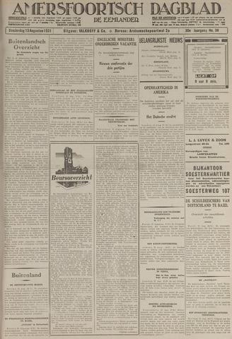 Amersfoortsch Dagblad / De Eemlander 1931-08-13