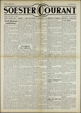 Soester Courant 1959-02-03