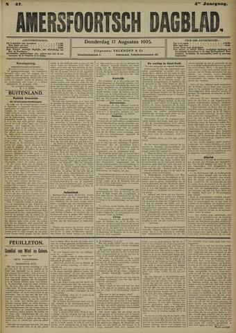 Amersfoortsch Dagblad 1905-08-17