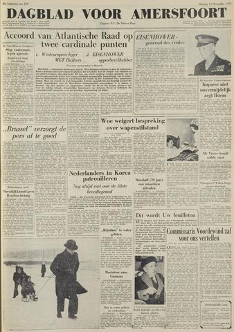 Dagblad voor Amersfoort 1950-12-19