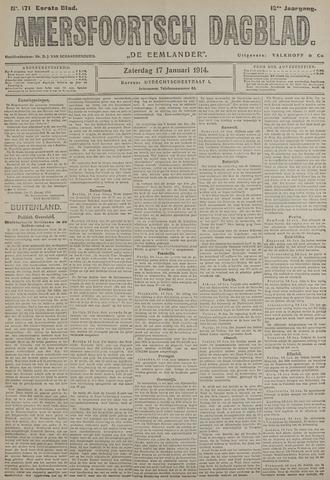 Amersfoortsch Dagblad / De Eemlander 1914-01-17