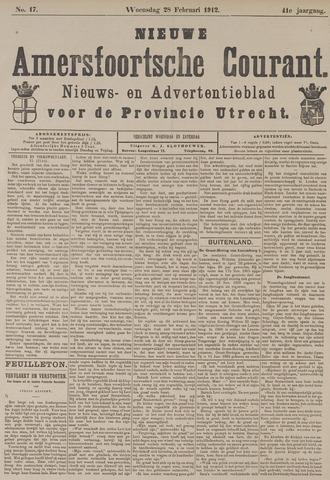 Nieuwe Amersfoortsche Courant 1912-02-28
