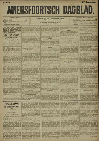 Amersfoortsch Dagblad 1910-12-28