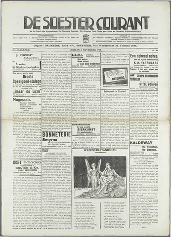 Soester Courant 1938-11-11