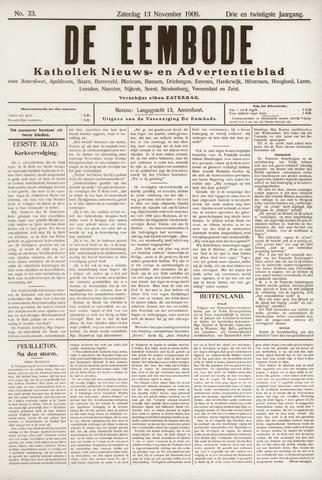 De Eembode 1909-11-13