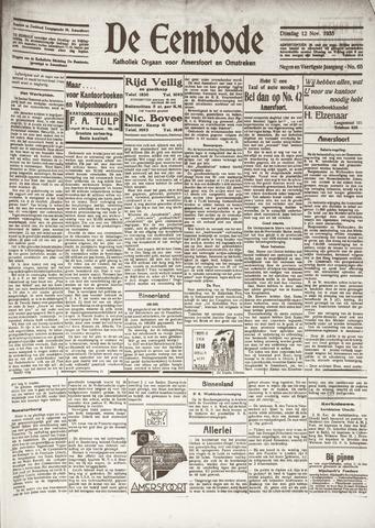 De Eembode 1935-11-12