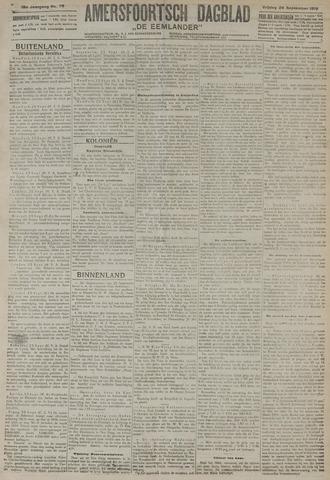 Amersfoortsch Dagblad / De Eemlander 1919-09-26