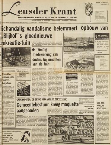 Leusder Krant 1974-02-14